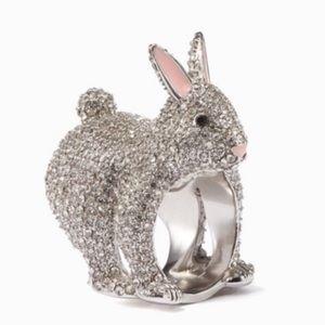 "NWOT Kate Spade ""Make Magic"" Bunny Ring"